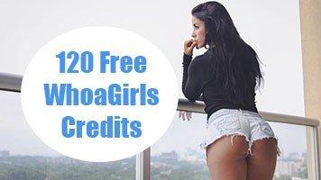 120 free whoagirls credits