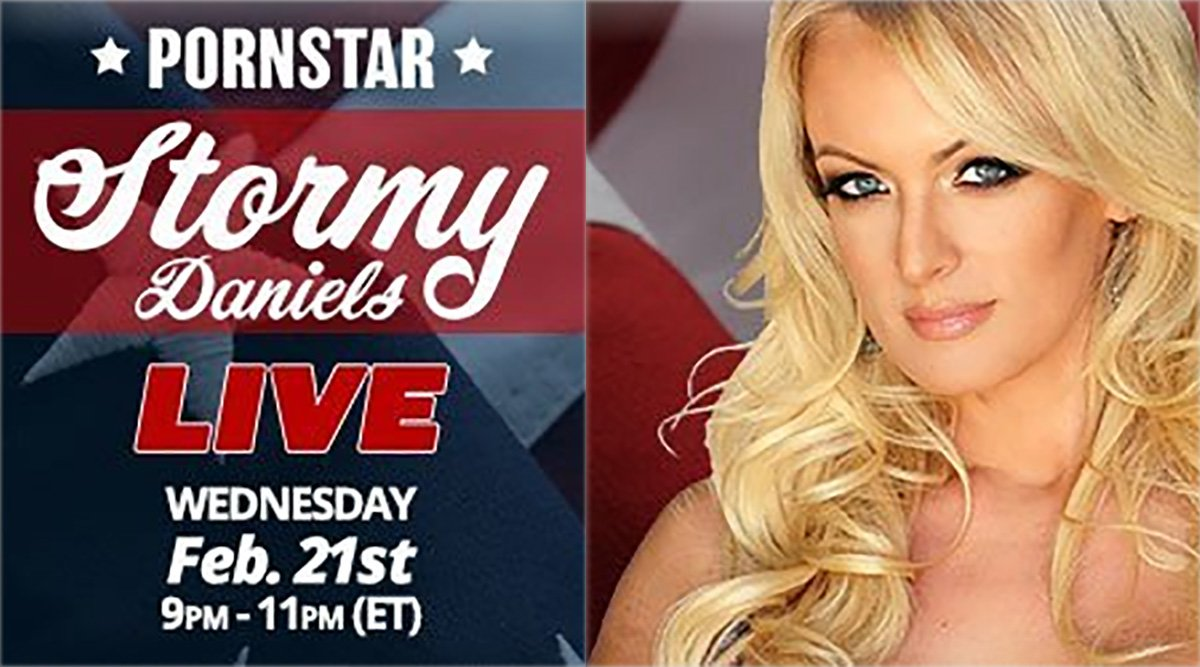 Stormy Daniels Cam Show (Guest Appearance)