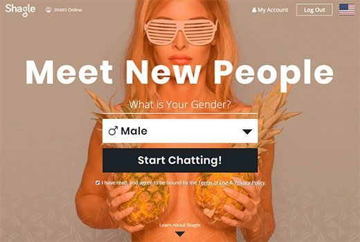 Roulette chat Sex video